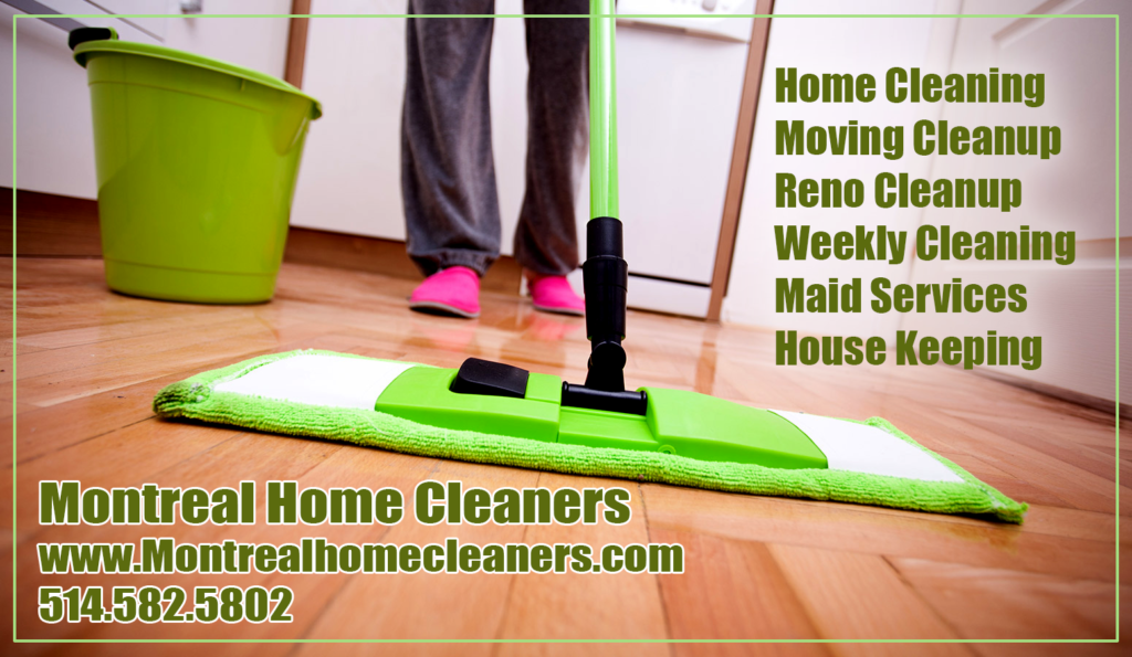 House Cleaning Services in Montrreal