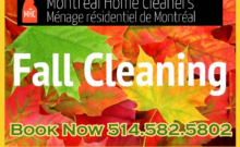 Fall Cleaning Services Montreal