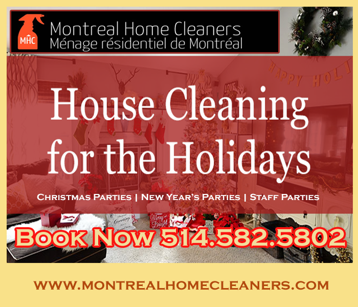 Holiday House Cleaning Company - Montreal Home Cleaners