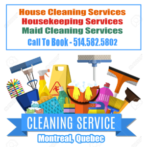 Montreal housekeep and maid services