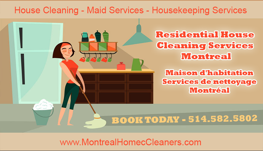 Maid Cleaning Services Montreal