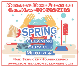 Spring Cleaning Services in Montreal